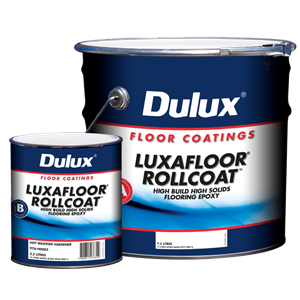 dulux luxafloor rollcoat - high-build, high-solids, two-pack epoxy floor paint