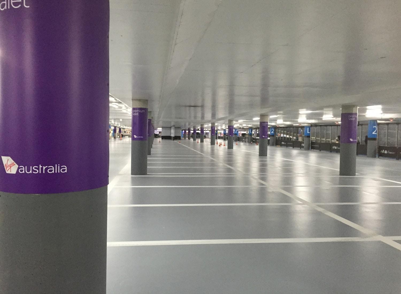 Melbourne Airport Valet Car Park Floors