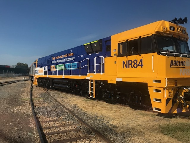 Gleaming new paintwork for Australia's hardest working trains
