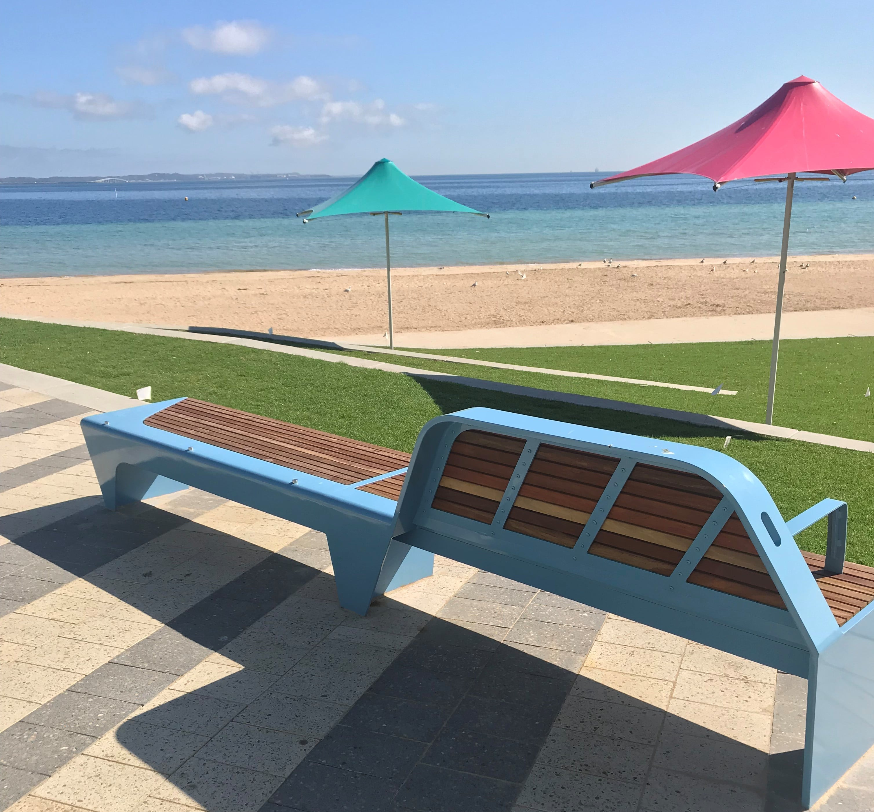 Marine grade protection for vibrant new beach precinct