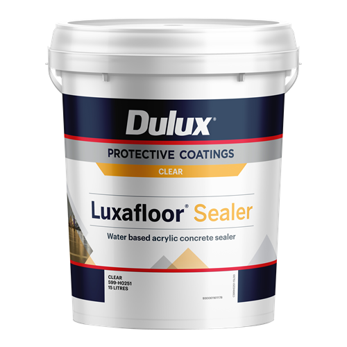 dulux luxafloor sealer - one-pack of water-based acrylic sealer