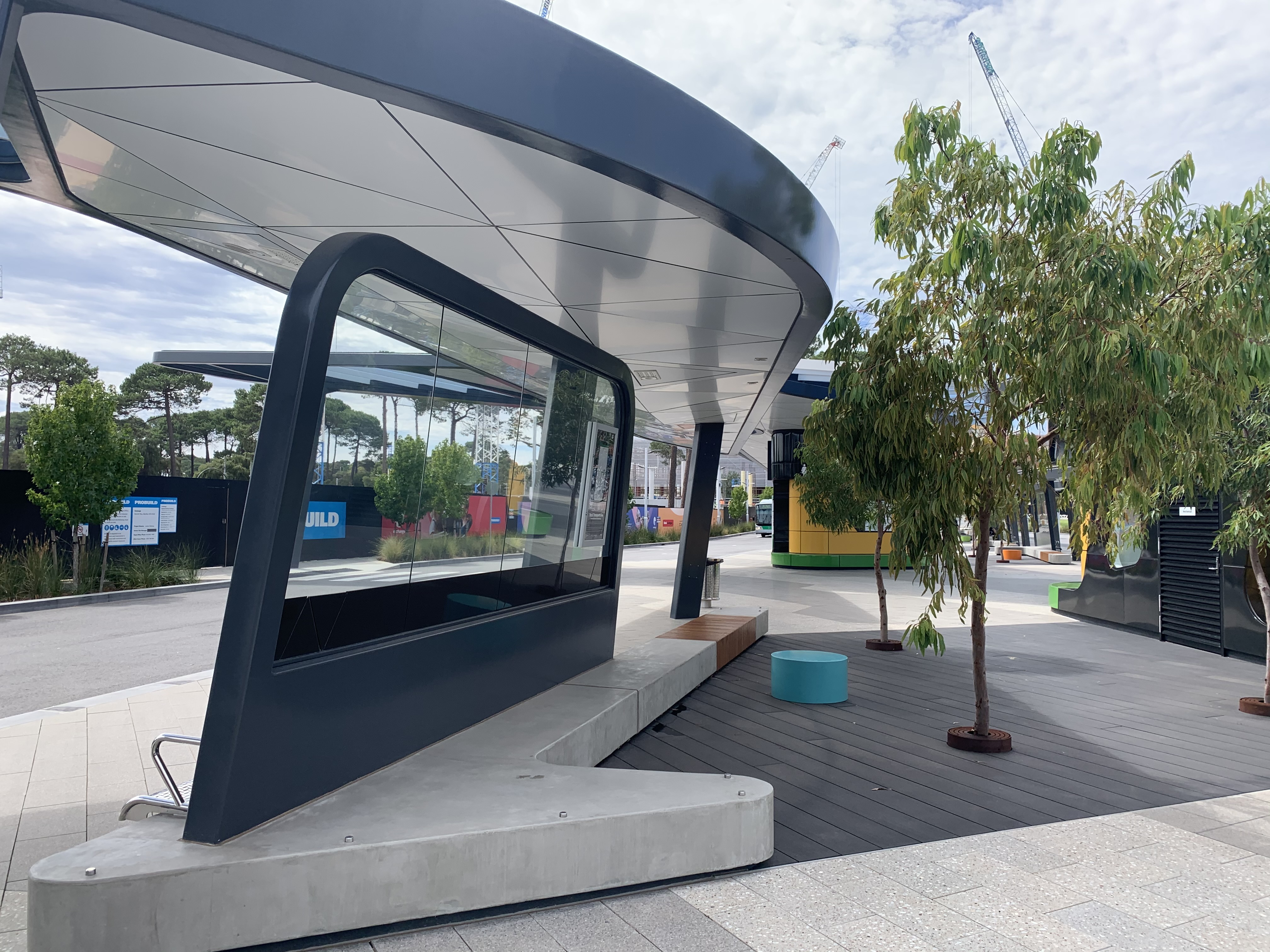 Transport hub gets top marks for durability at Perth's Curtin University