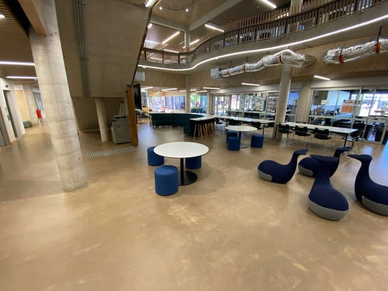 Luxafloor delivers hard-working finish at Darwin Middle School
