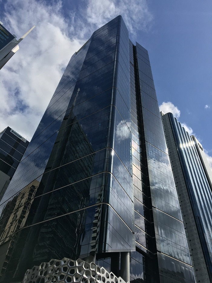 High praise and protection for soaring steel tower