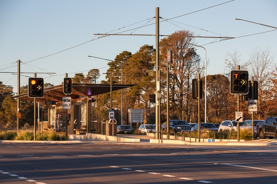 Quantum V90 provides the perfect finish for Canberra light rail